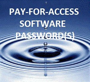 PAY-FOR-ACCESS Password(s)